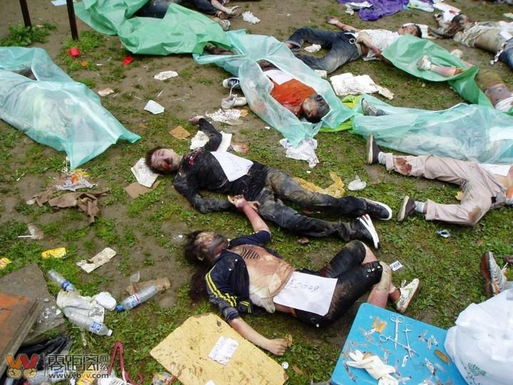 512汶川地震禁播图片