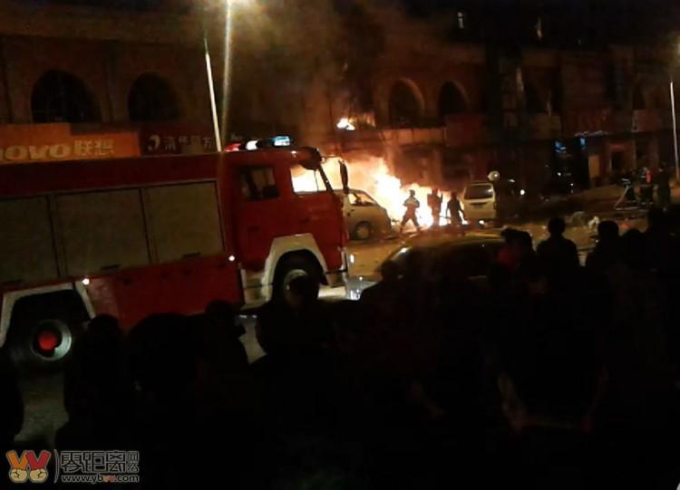 西喜羊羊火锅店爆炸,14人死47人受伤 现场实拍