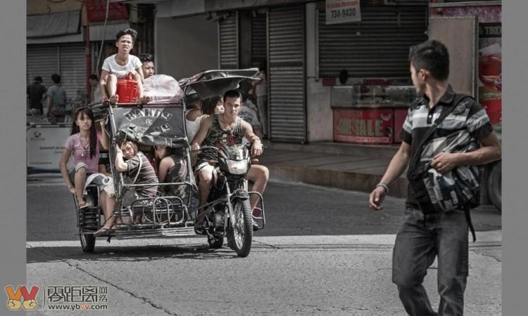 菲律宾车夫