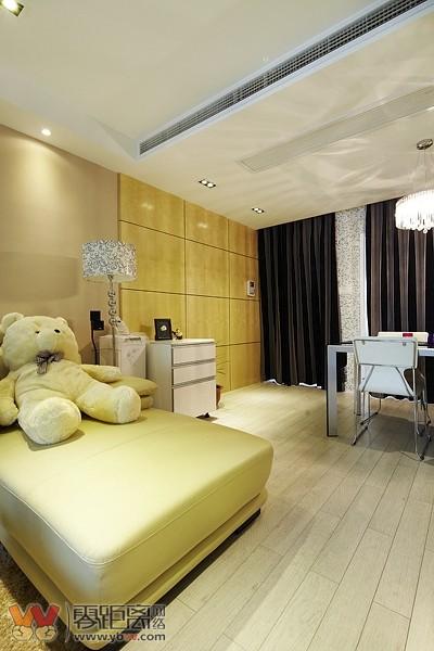 宜宾88平米两室两厅装修户型家装效果图